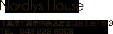 千葉県千葉市美容室 ノルディーズハウスのロゴです